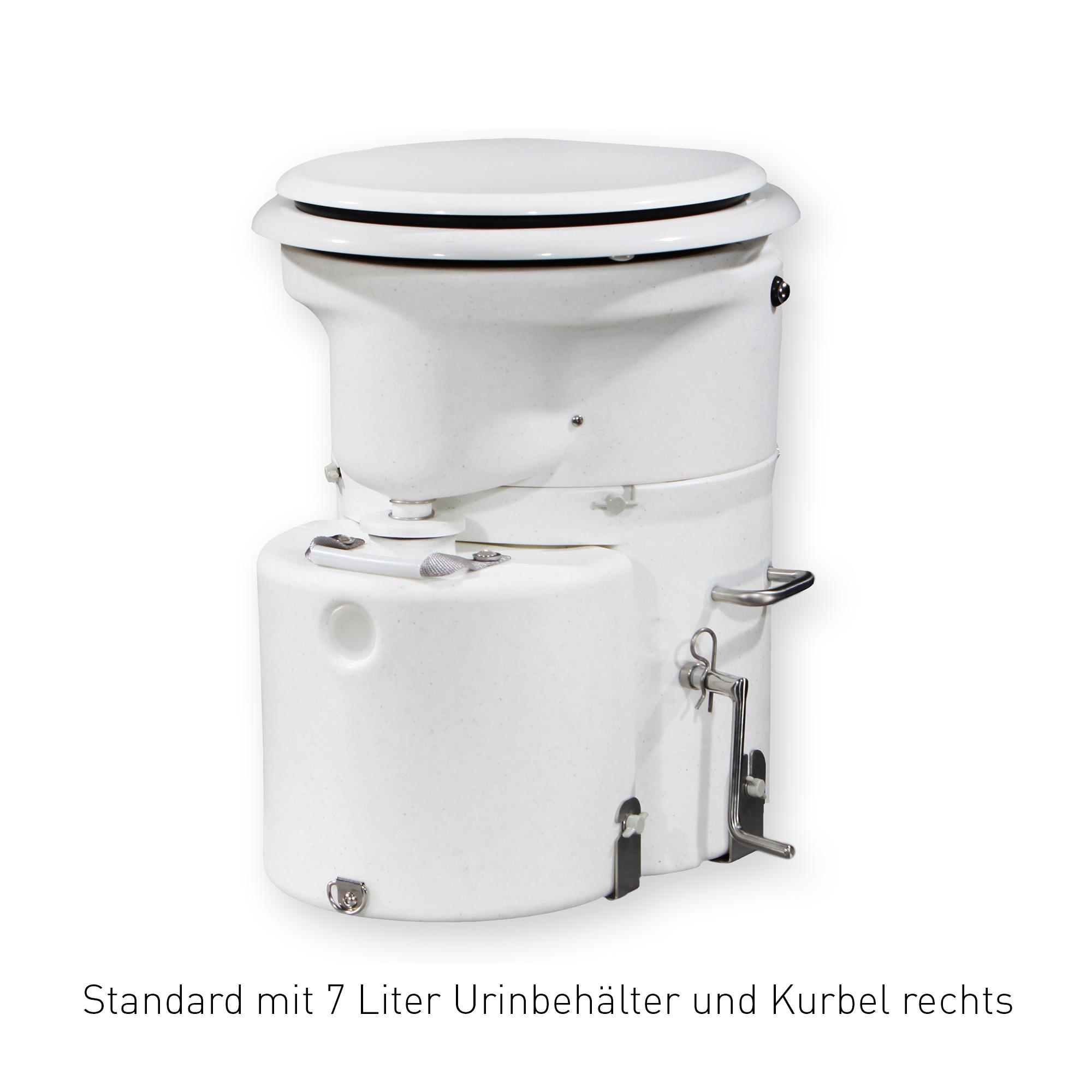 Air Head Trocken Trenn Kompost Toilette für Wohnmobil und Boot